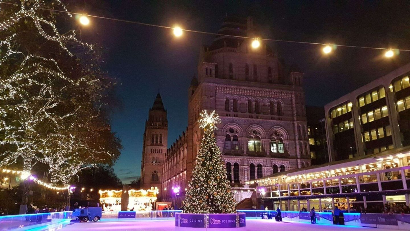 Top 5 places to go ice skating in London