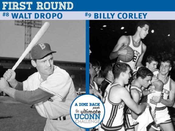 Walt Dropo vs. Billy Corley