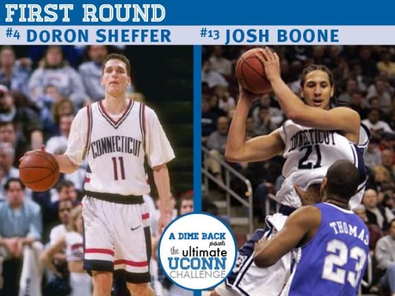 Doron Sheffer vs. Josh Boone