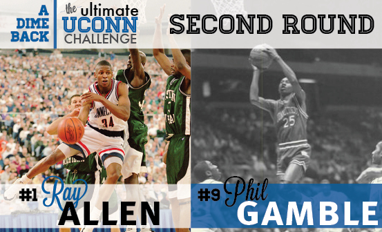 Ray Allen vs. Phil Gamble
