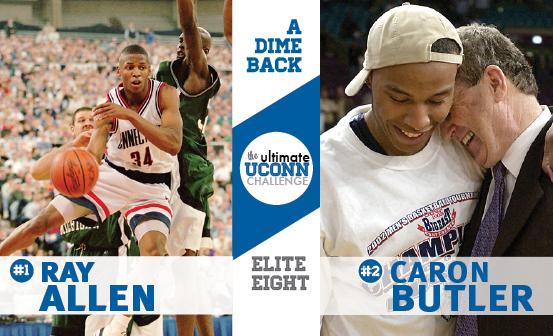 Ray Allen vs. Caron Butler
