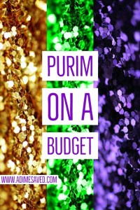 Purim on a Budget