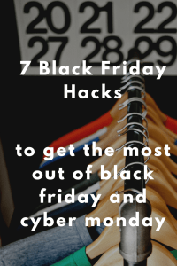 7 Black Friday Hacks