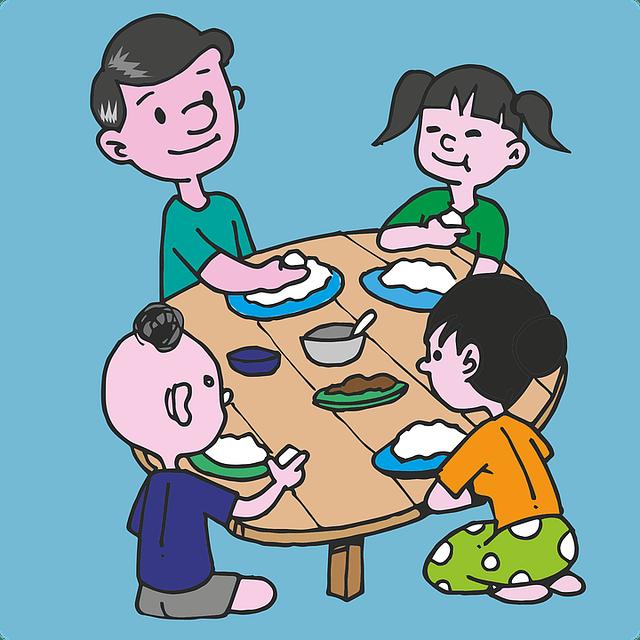 feeding a large family