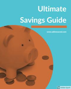 Ultimate Savings Guide Pinterest