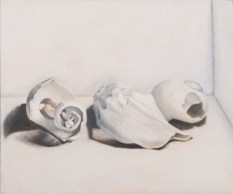 Brittany Roberts, White Painting Assignment, Intro to Painting, MassArt, 2011