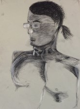 L. Sehringer, Head Drawing, Drawing Fundamentals, MassArt Summer Intensives, 2013