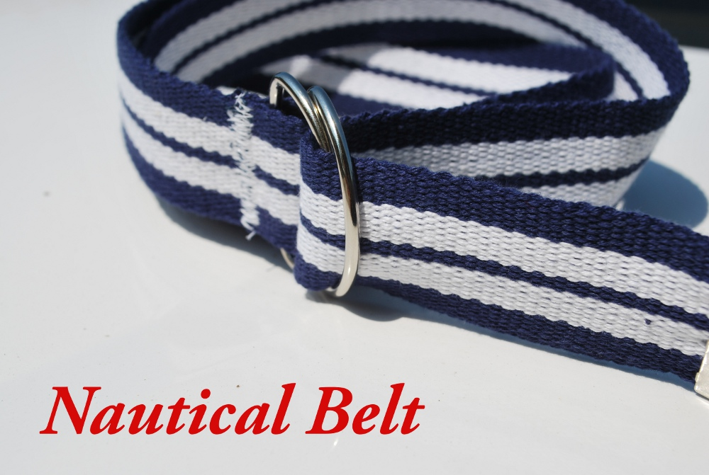 Nautical Belt {Tutorial} (1/6)