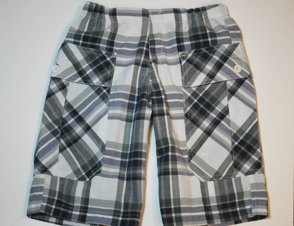 Mock Fly Preppy Shorts (1/3)