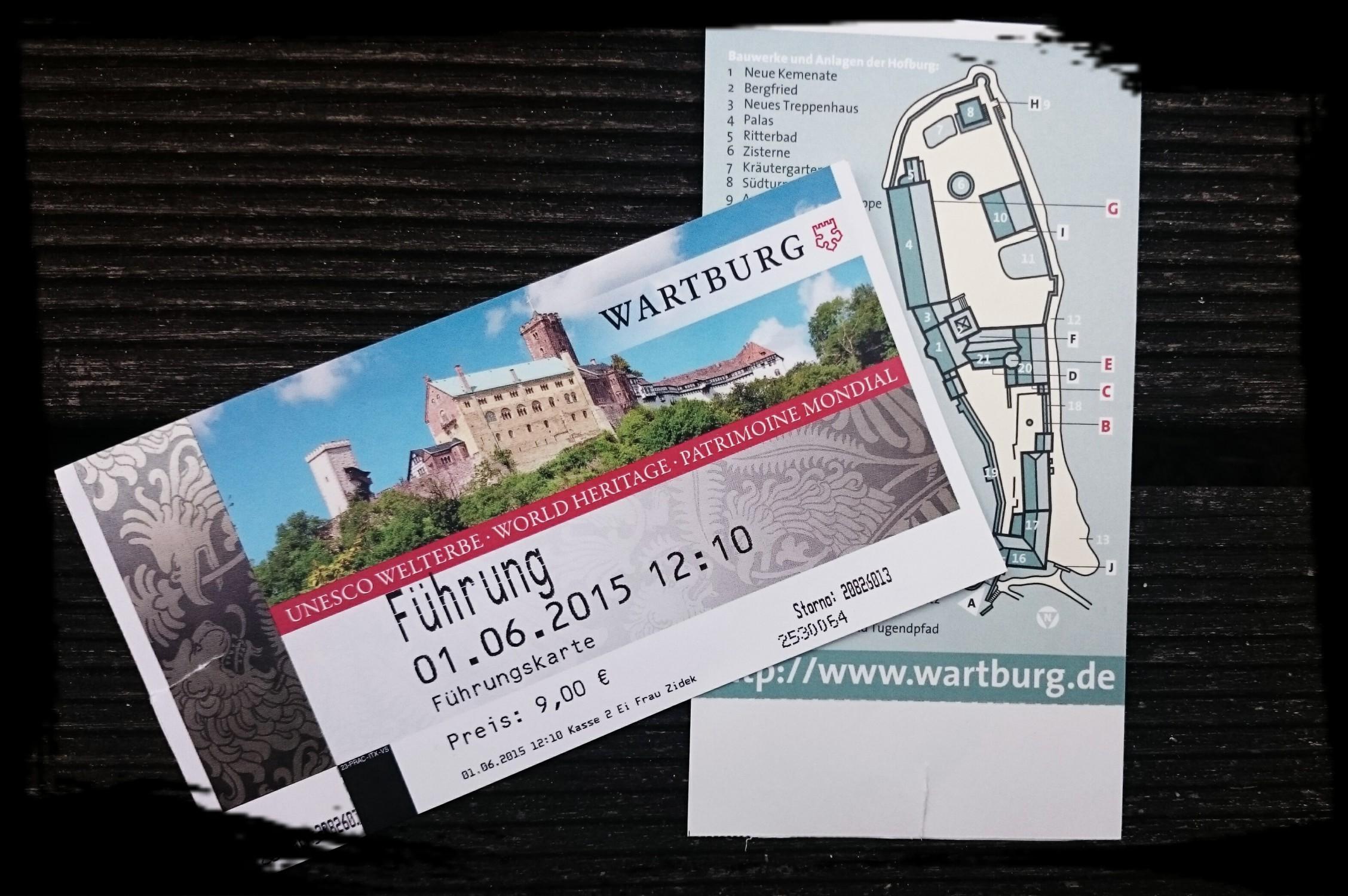 Ausflug Nach Eisenach: Die Wartburg   Adinakocht