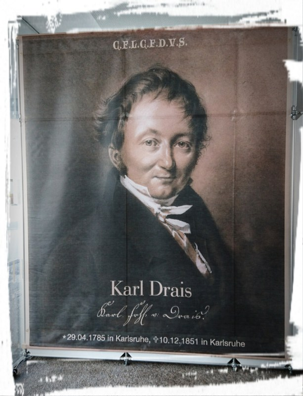 (Vielleicht) Karl Drais