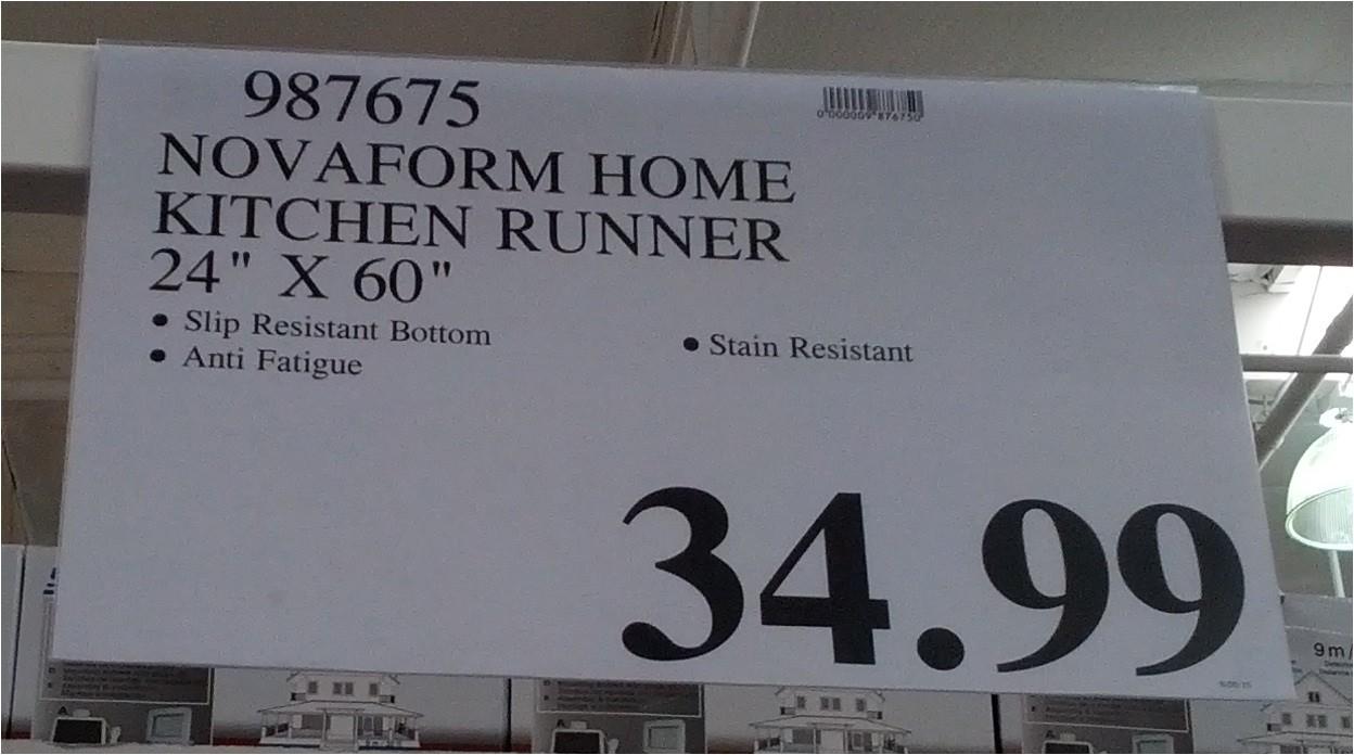 novaform kitchen mat floor rugs anti fatigue mats canada costco adinaporter home runner 987675