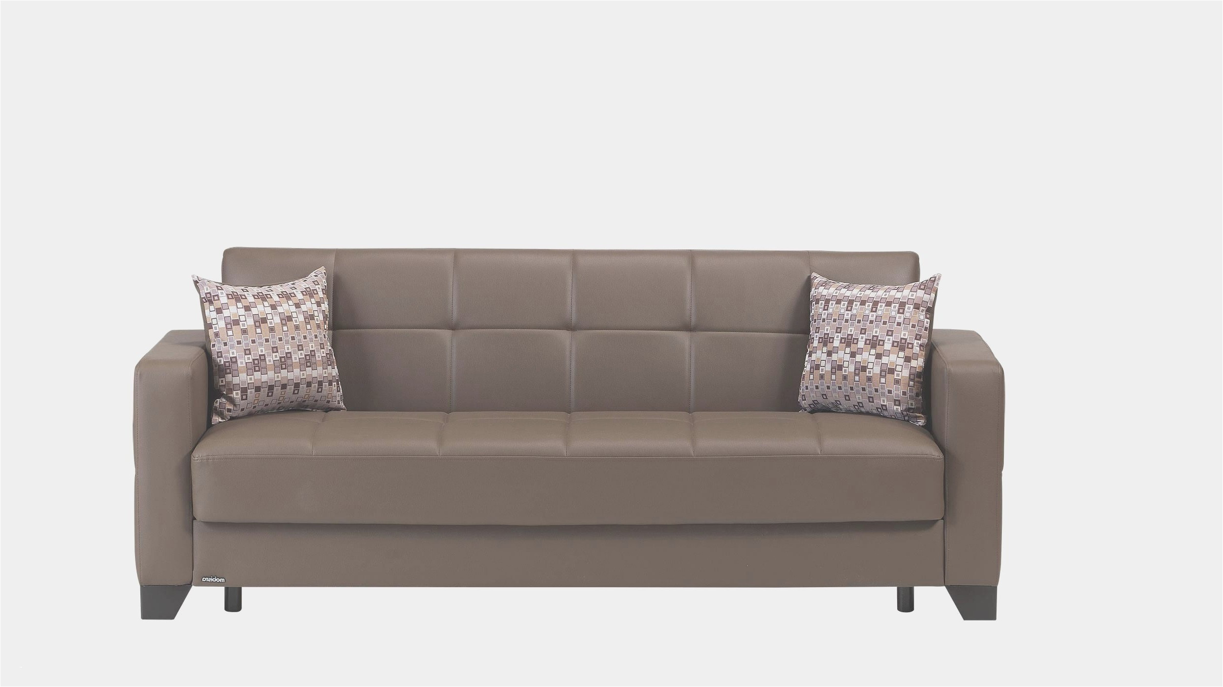 Friheten Sessel 2 Personen Chaiselongue Lounge Sessel Beige Leder