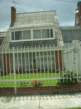 A house in Bogotá.