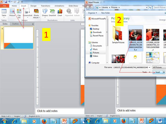 Cara Memasukan Foto Ke Powerpoint