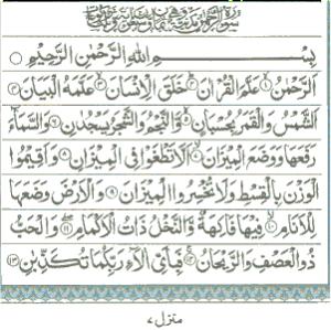 Surah Ar Rahman Arabic Dan Latin Serta Terjemahannya