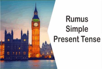 Rumus Simple Present Tense Verbal Dan Nominal Dan Contohnya
