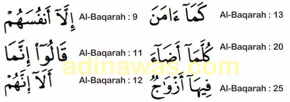 Pengertian Mad Jaiz Munfasil Dan Contohnya Dalam Surah Al Baqarah