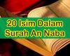 20 Isim Dalam Surah an Naba Serta Jenis Isim dan Ciri-cirinya Lengkap