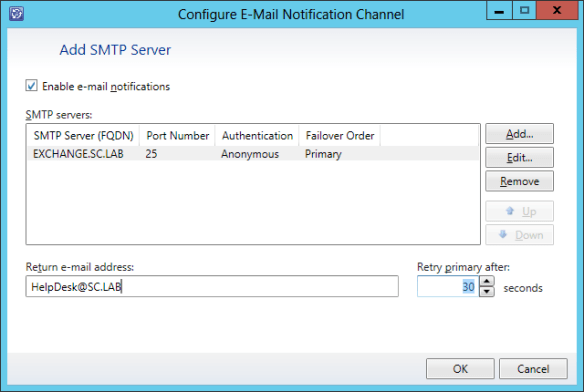 Config Email Notifications 10