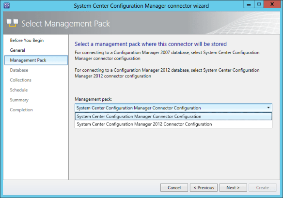 Config SCCM Conn 06