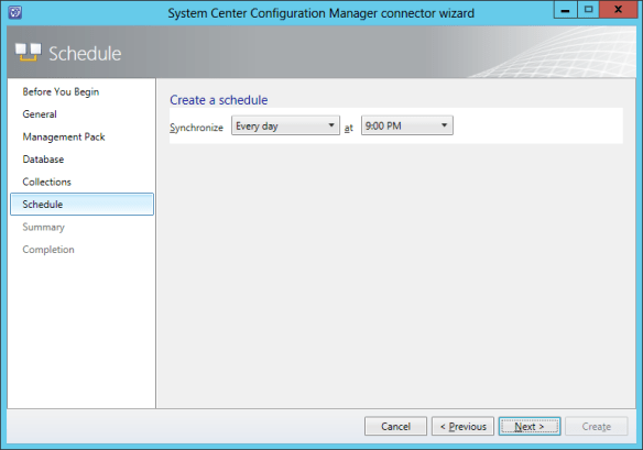 Config SCCM Conn 09