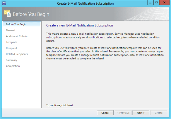 Create Notification Sub - Incident 04