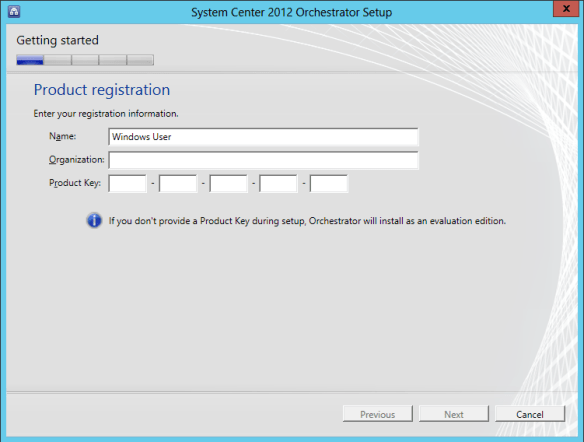 Orchestrator Install 02