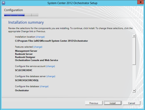 Orchestrator Install 15