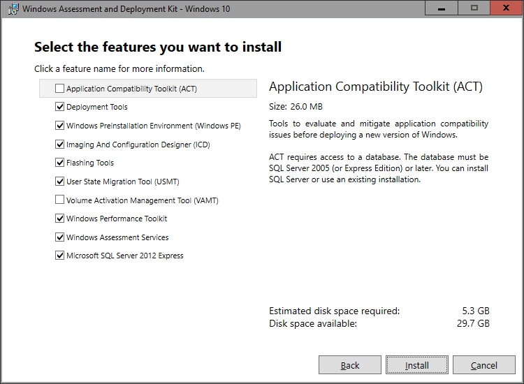 Microsoft Deployment Toolkit 2013 Update 1 Preview - Installation
