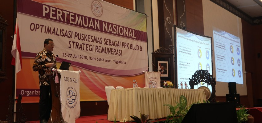 National Meeting to Optimalize Puskesmas as PPK BLUD and Remuneration Strategy