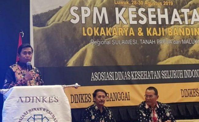 Lokakarya SPM Kesehatan bersama ADINKES Provinsi SULTENG