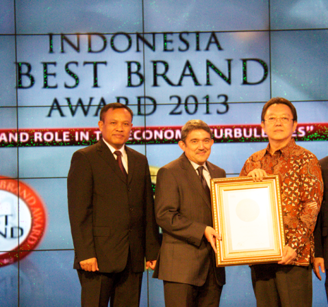 Adira Finance Meraih Indonesia Best Brand Award 2013