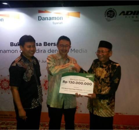 Danamon Syariah, Adira Finance, and Adira Insurance Held Iftar with Media