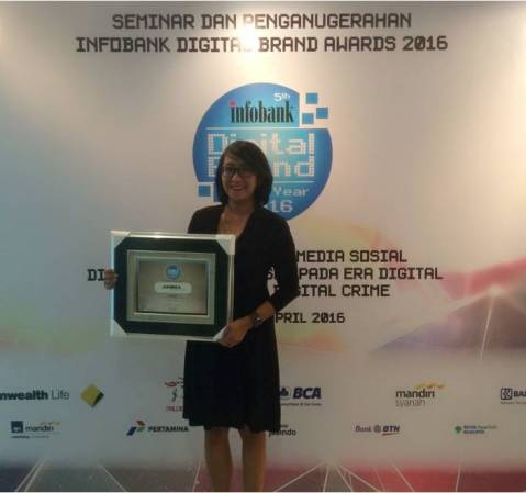Adira Finance Raih Infobank Digital Brand Awards 2016