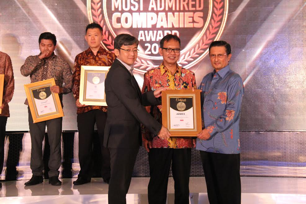 Adira Finance Raih Indonesia Most Admired Company 2017