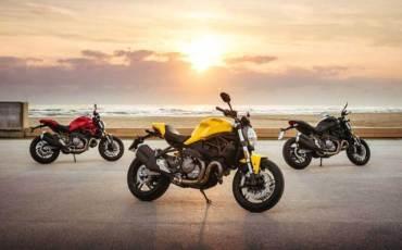Nostalgia, Ducati Monster 821 Berkelir Kuning