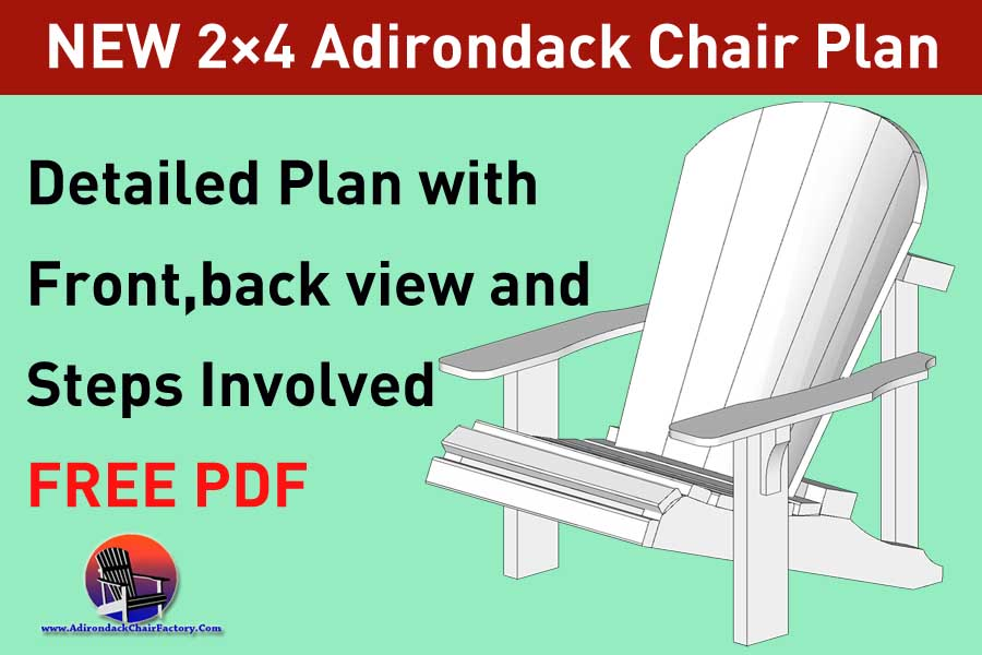 2x4 Adirondack Chair Plans Free Diy Guide To Build Your Own Patio