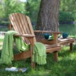 Oak Wooden Adirondack Chair