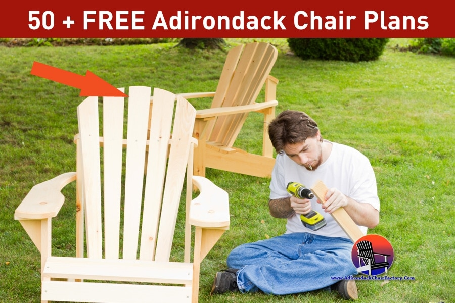 50 Free Adirondack Chair Plans You Can Diy Today