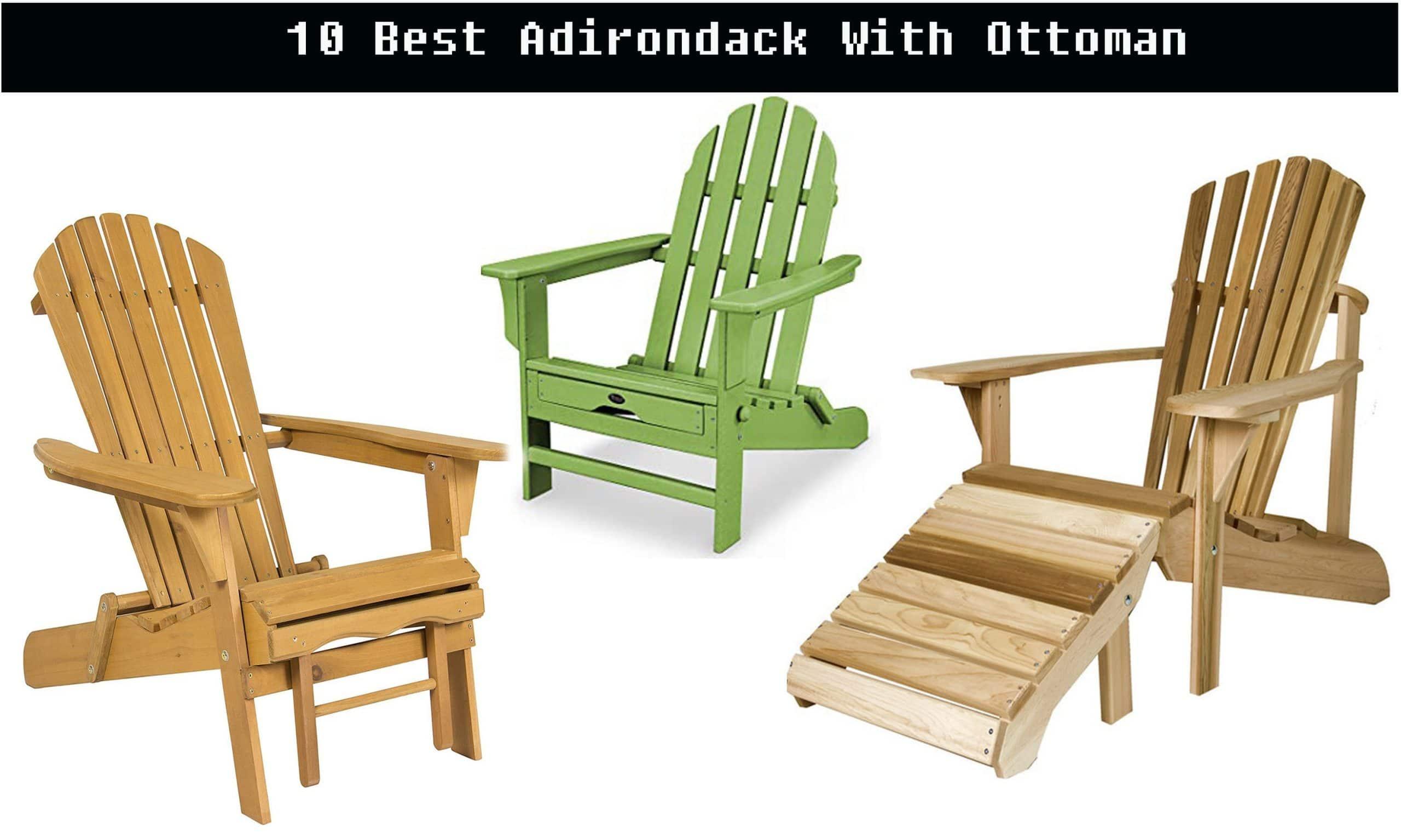 ottoman for adirondack chair