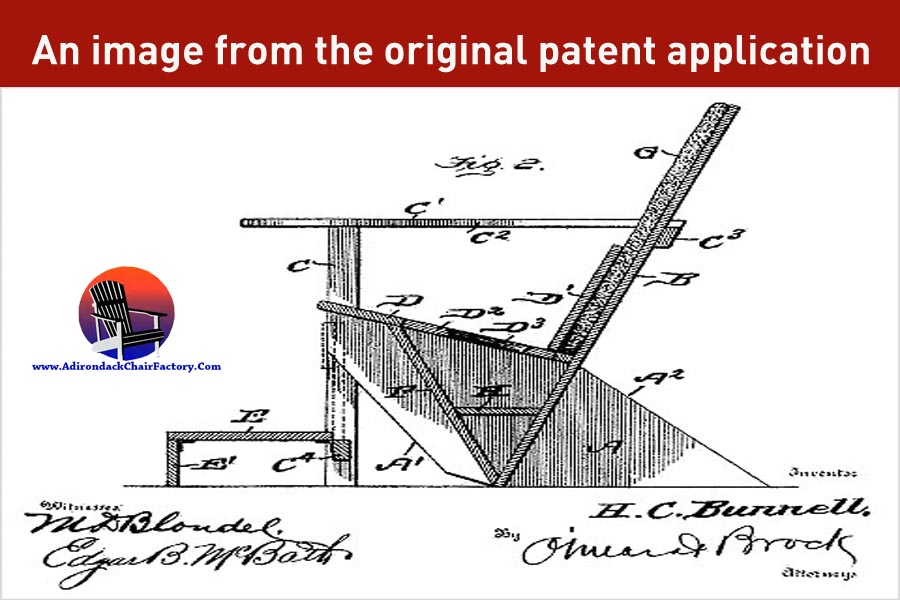 patent of Adirondack chairs
