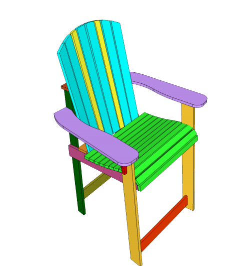 beach chair Adirondack chair