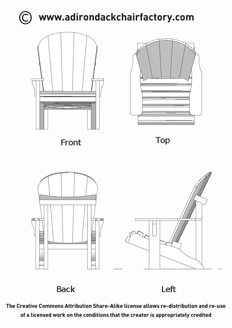different views of chairs