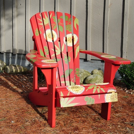 paint for adirondack chairs wicker lounge pool everything you wanted to know about red painted chair
