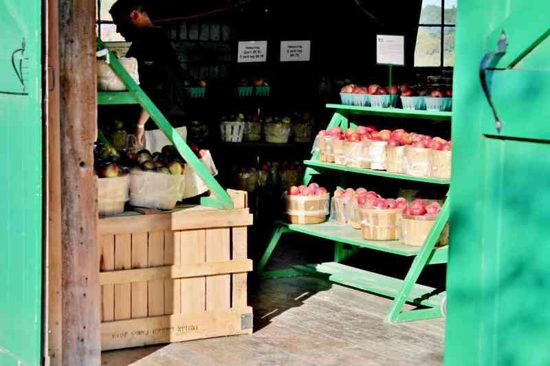 an apple barn