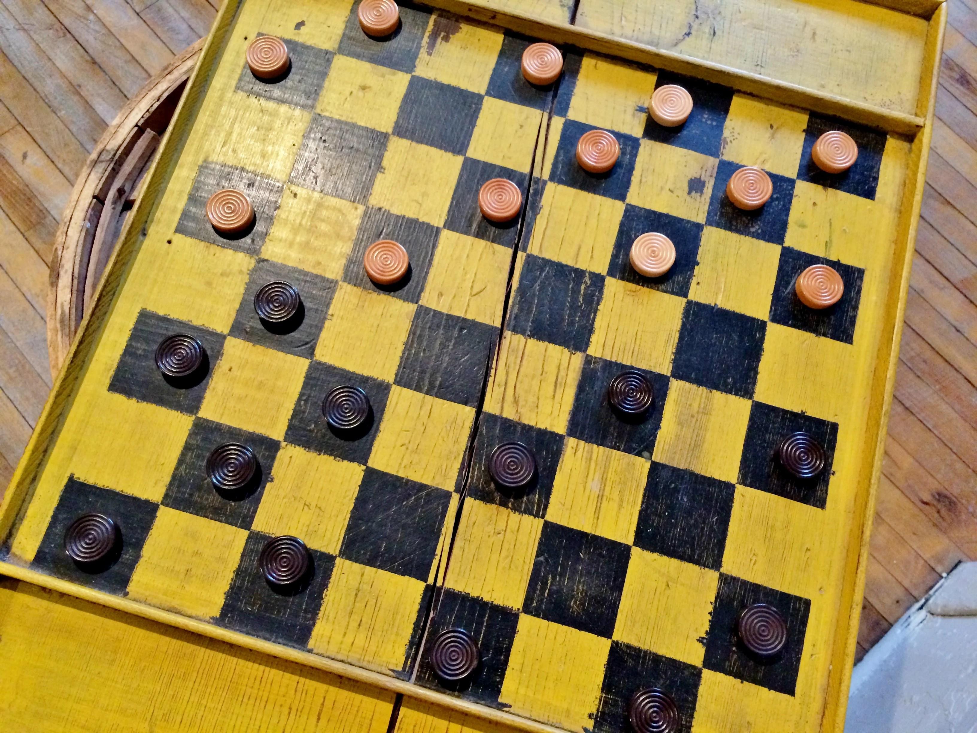 Chessboard Bennington Museum