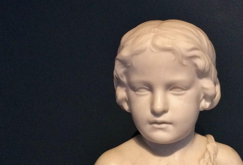 Infant Flora, 1857, Erastus Palmer