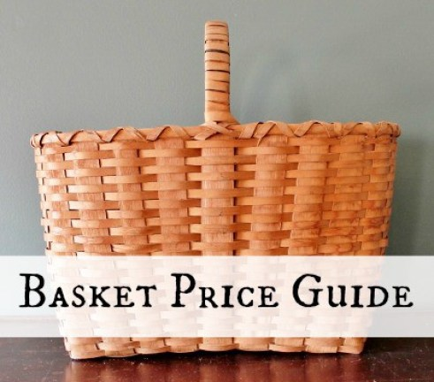 Introducing My Antique & Vintage Basket Price Guide