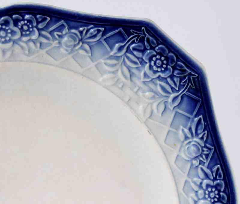 flow blue plate design